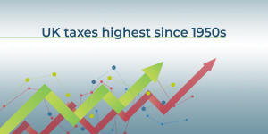 UK Taxes highest