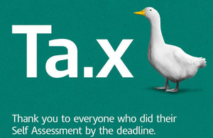 Self Assessment tax return SATR