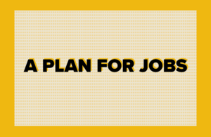 Chancellor's plan for jobs