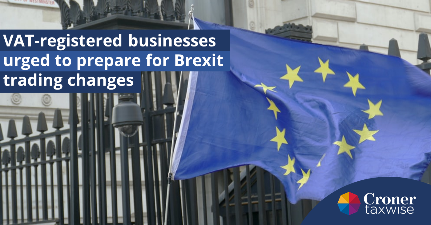 VAT Reg businesses to prepare for Brexit